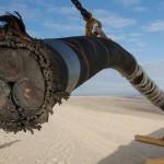Rund 15 cm Querschnitt, durch die seit 2010 sauber gewonnene Energie in das deutsche Stromnetz eingespeist werden.