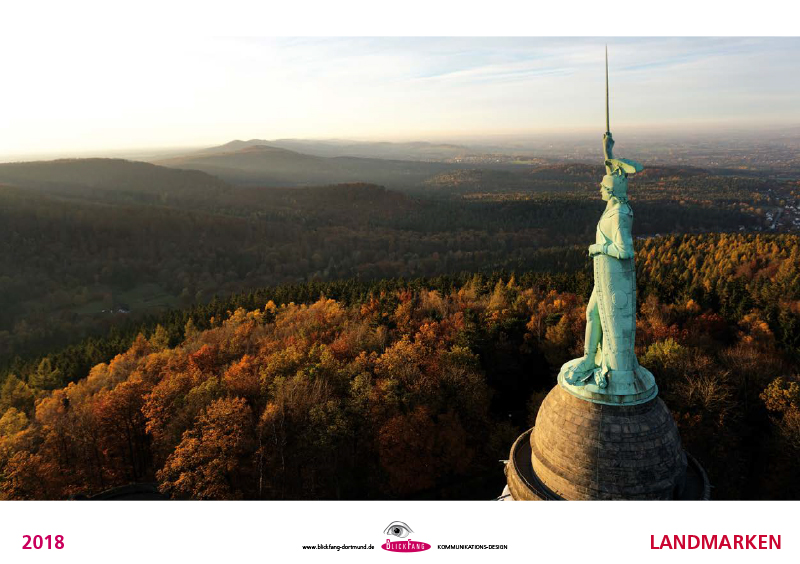 Hermannsdenkmal im Teutoburger Wald